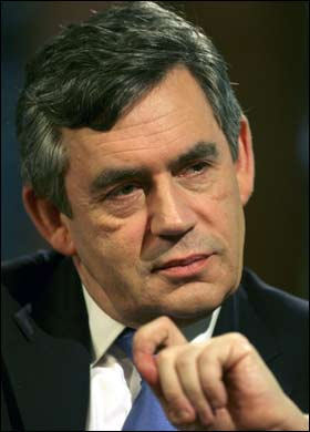 Gordon Brown - u-turn on thalidomide