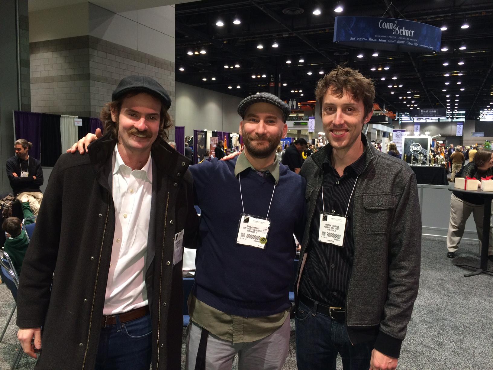 Myself with Ryan Adamsons &  Andrew Thompson