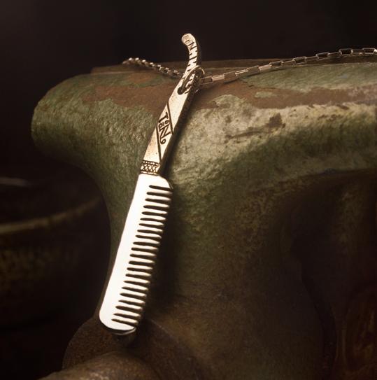 Beard Comb for a Groomsmen