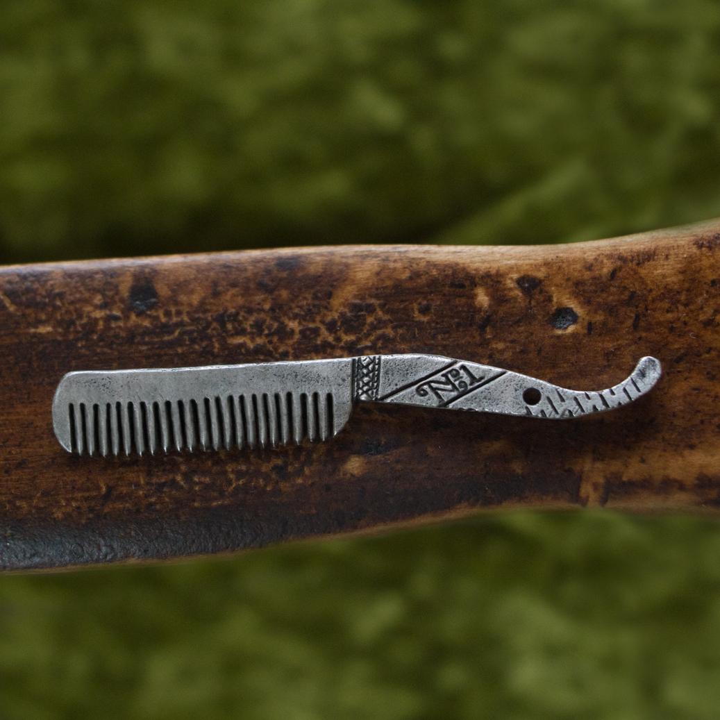 A Customized Beard Comb