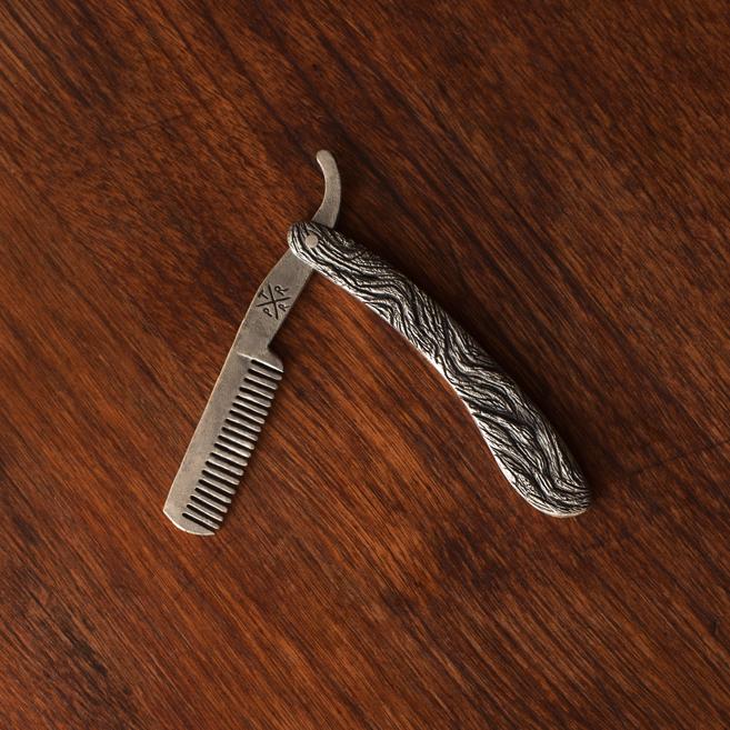 Metal Beard Comb
