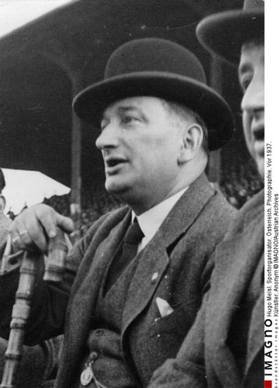 Hugo Meisl   1881 - 1937 Austrian National Team coach