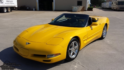 2003 Chevrolet Corvette Convertible 50th Anniversary Edition