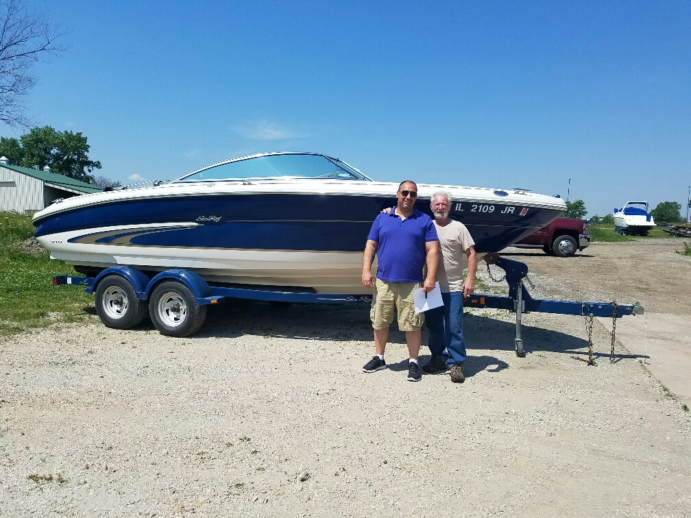 2001 Searay 210 -SOLD IN UNDER 24 HOURS