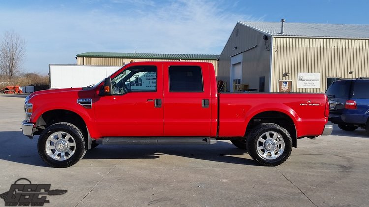 2008 FORD F 350 LARIAT SUPER DUTY