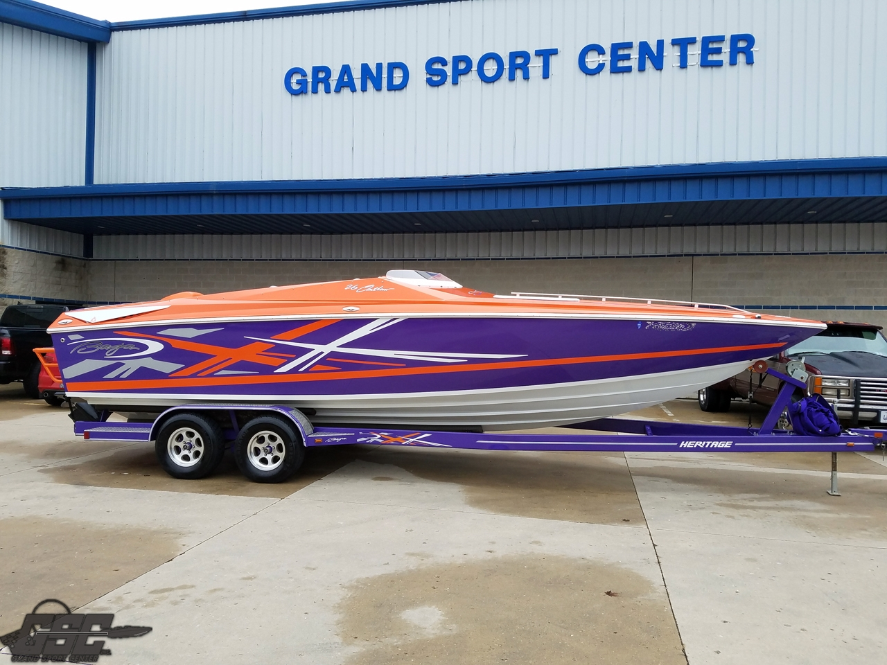 SOLD in 24 hrs - 2008 Baja 26 Outlaw SST