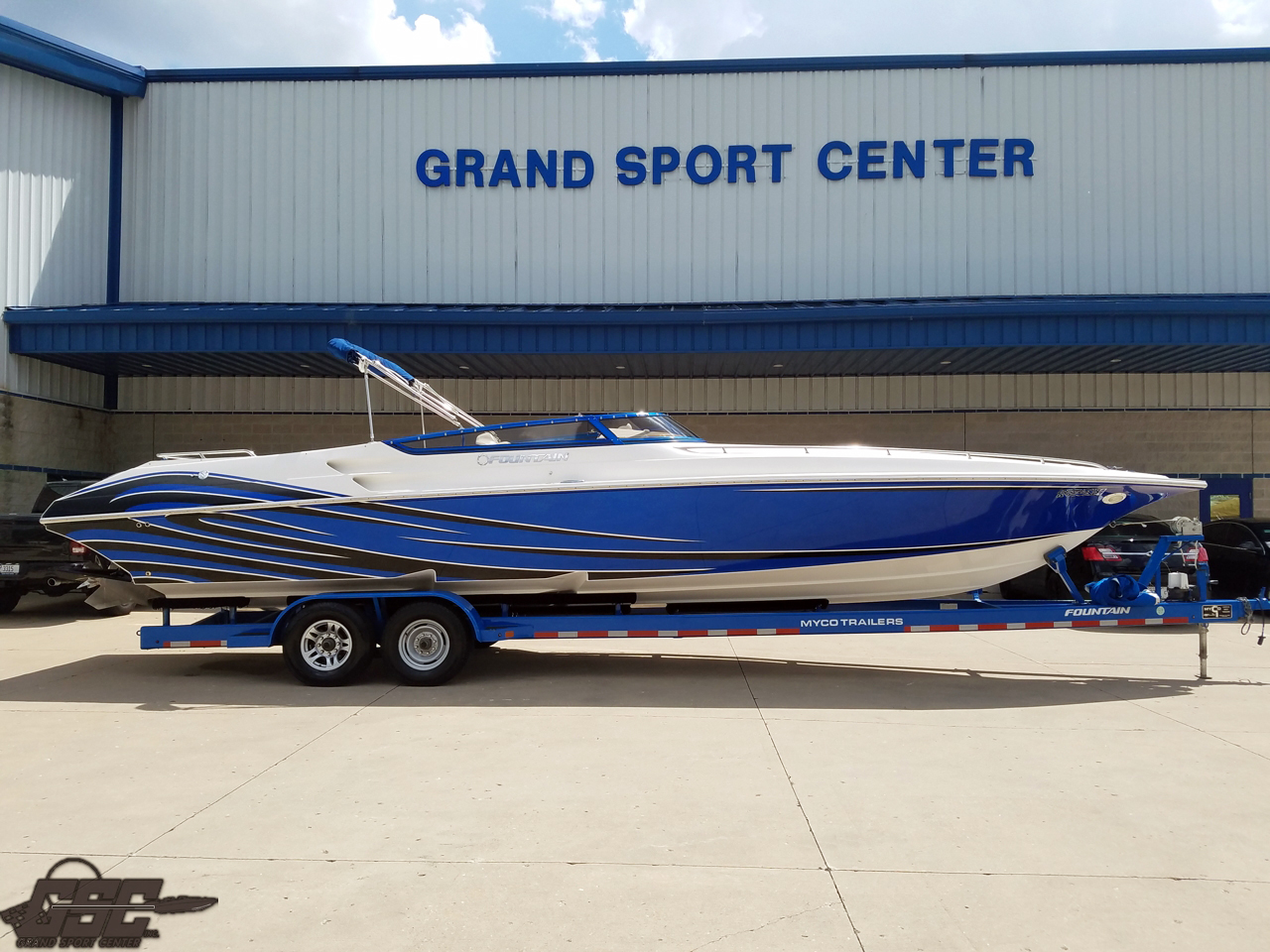 2008 Fountain 35 Lightning - Staggered 525 EFIs