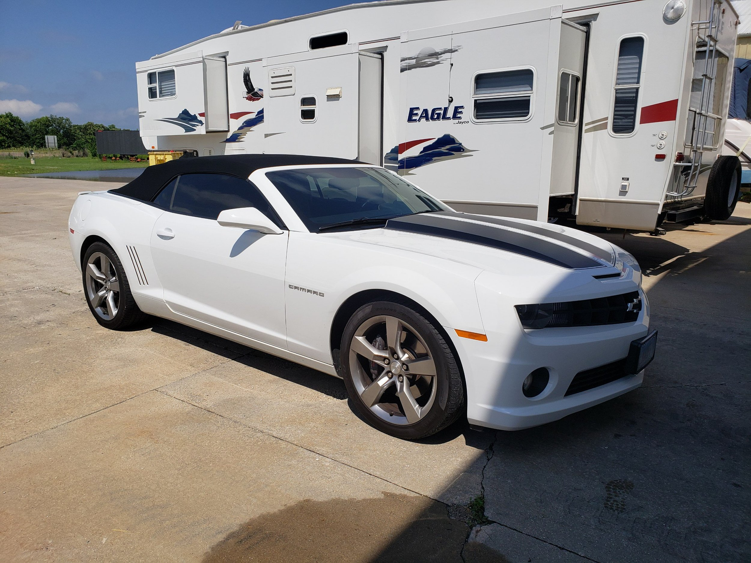2012 Camaro 2SS Convertible - SOLD in 24 HRS!