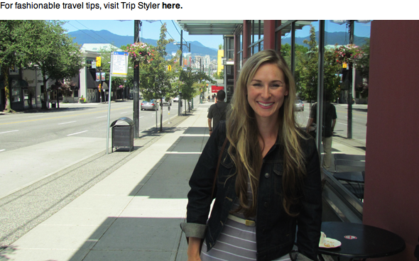 Interview  -  Vancouver Is Awesome  September, 2012  Vancouver Is Awesome  is one of the Glass City's top independent travel blogs, covering the people, places and things that make Vancouver tic. Icouldn'tbe happier to be one of this month's interviewees!