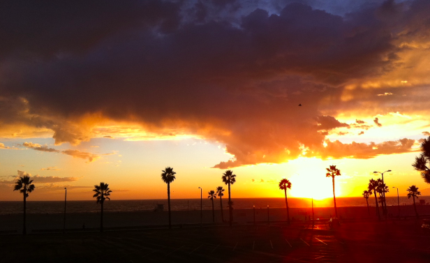 LA SUNSET VENICE BEACH