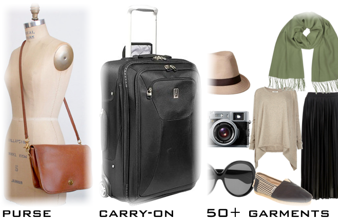 how to fit clothes into a carry-on