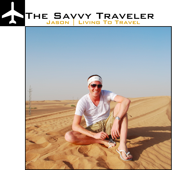 jason living to travel + savvy traveler