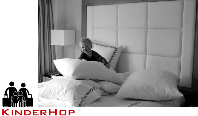 how to make hotel rooms work with kids