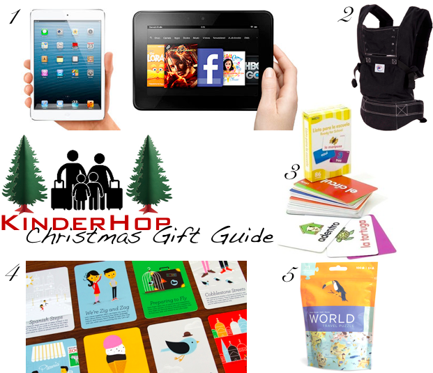 Christmas gifts for families on the go