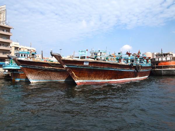 traditional boats dubai