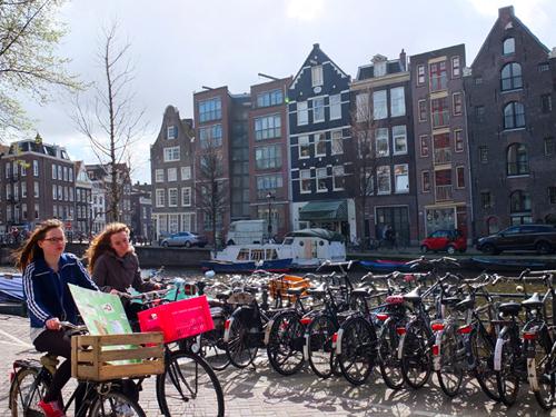 amsterdam cycling