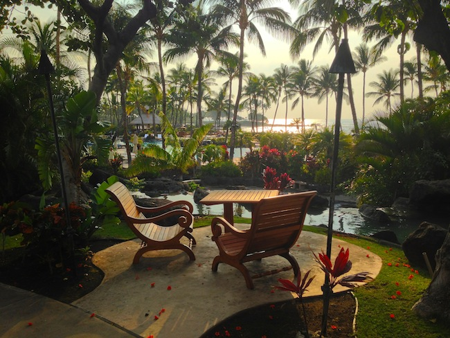 Spa at Fairmont Orchid Big Island Hawaii