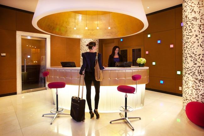OPUS hotel lobby