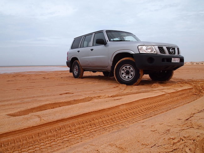 4x4 in the sahara