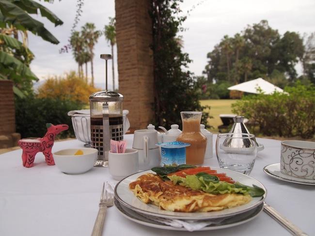 breakfast la gazelle d'or