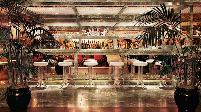 mini bar parker palm