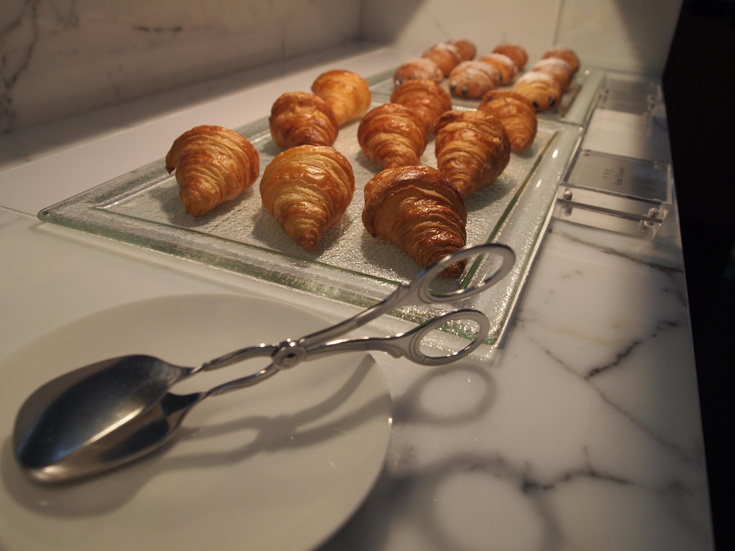The Long Bar morning croissants