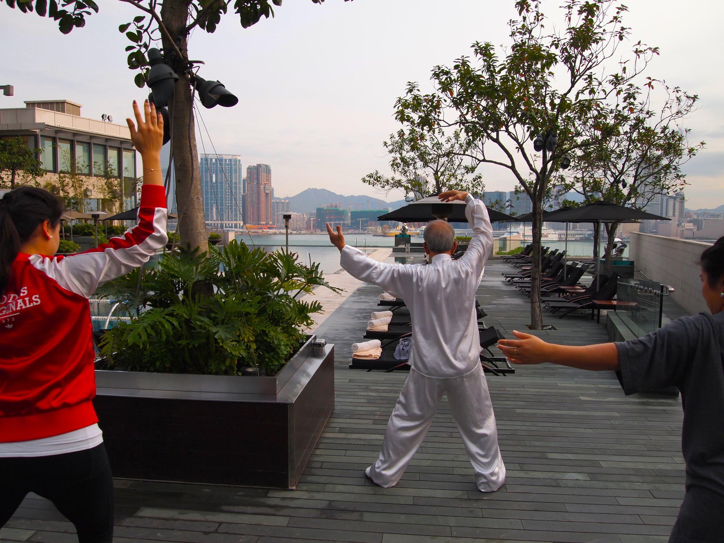 Tai Chi with master William