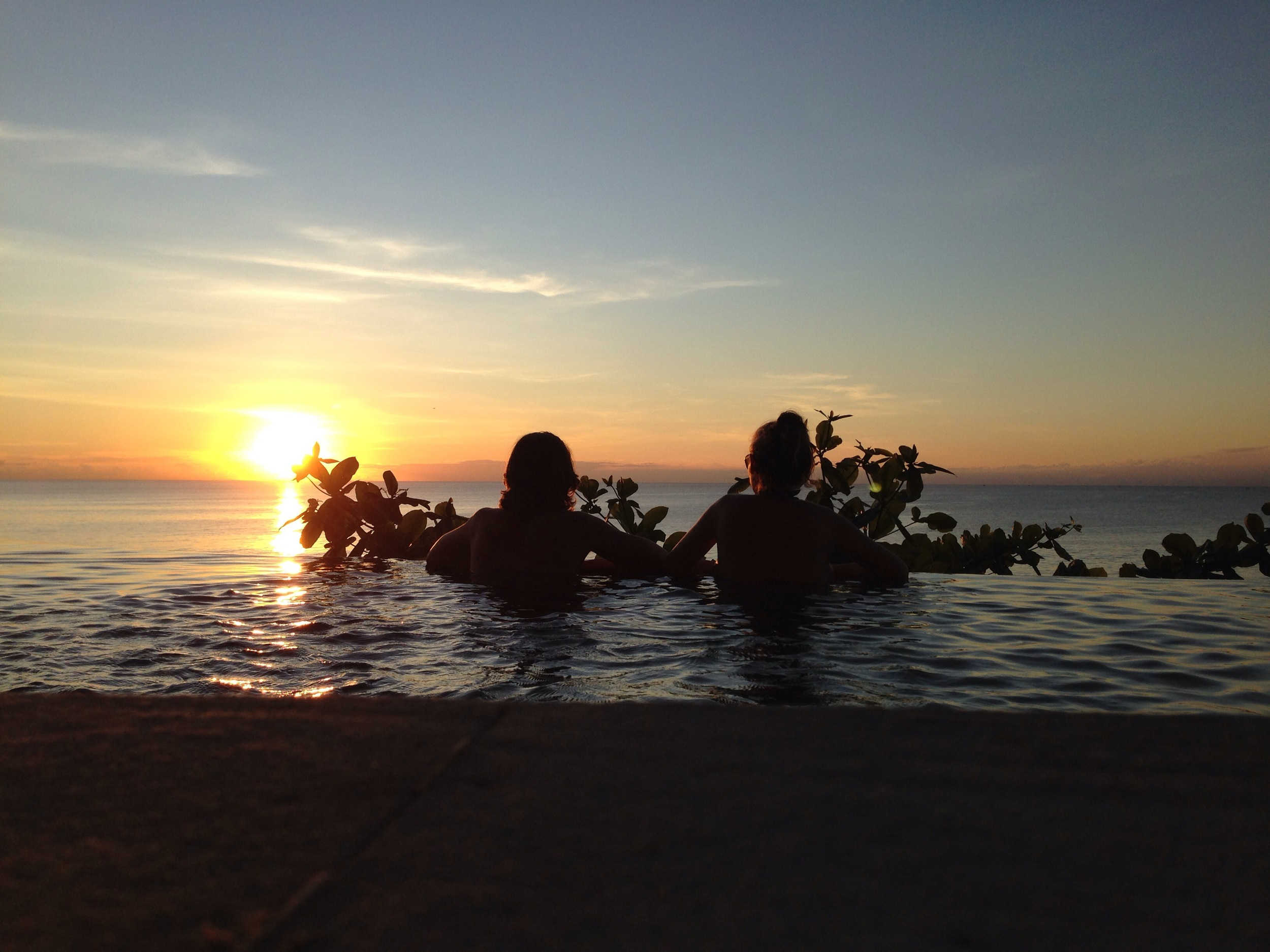 Four months. Bali.