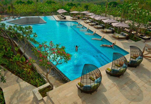One of six pools.