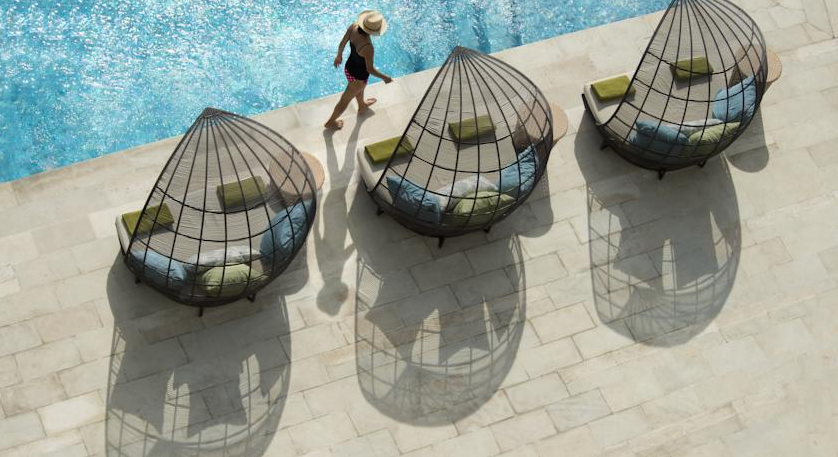 Not your average pool chairs.