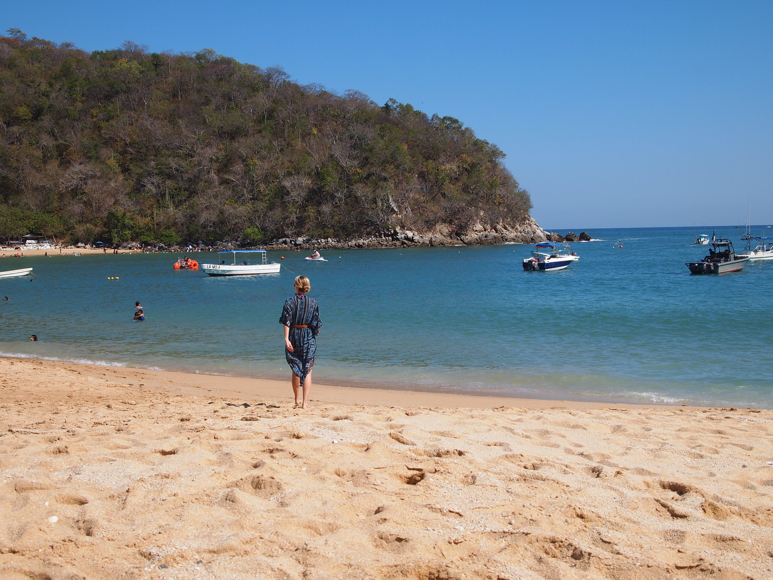 Mexico. First trip of 2014 to  Huatulco .