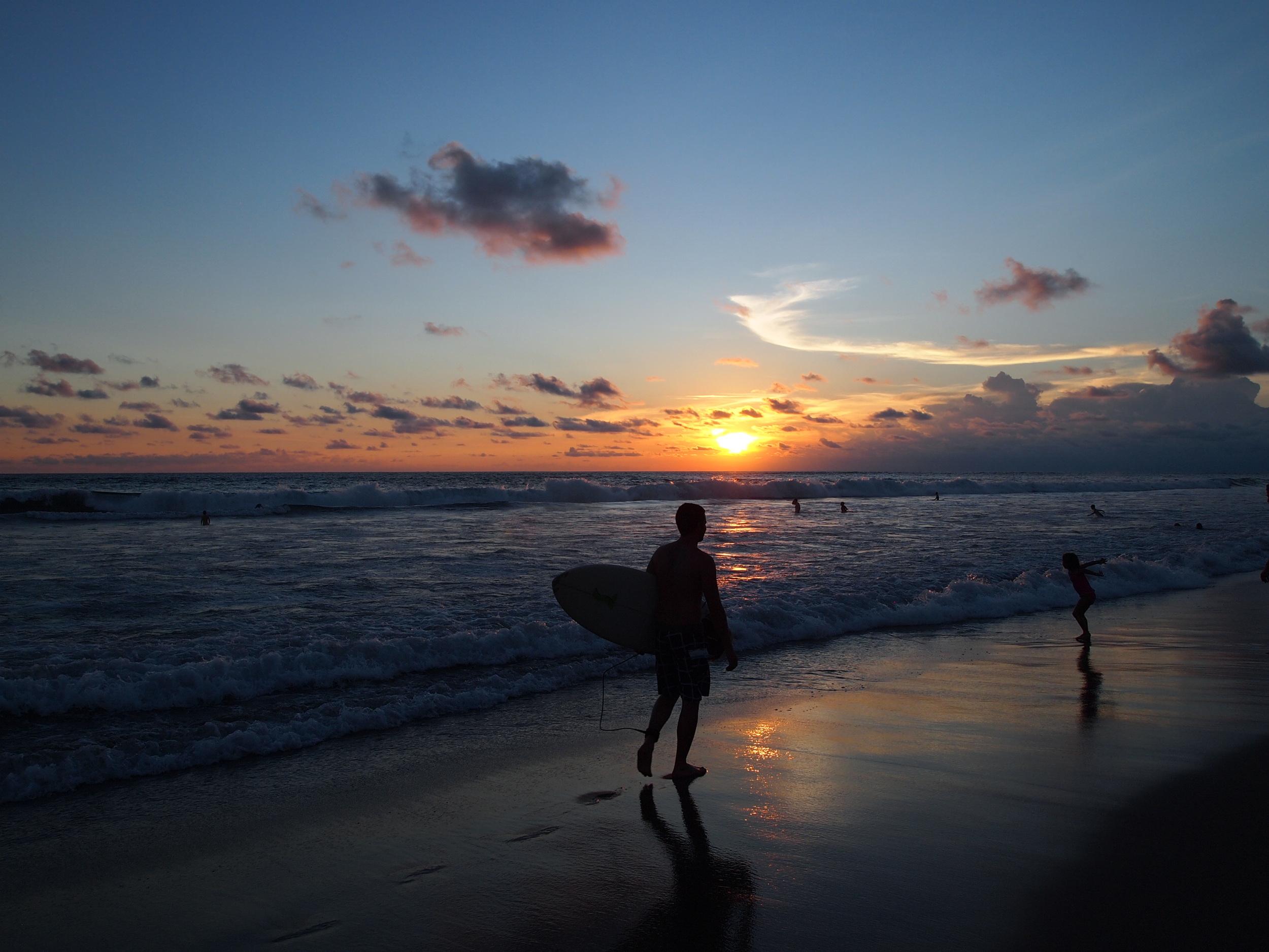 Bali. Seminyak beach.