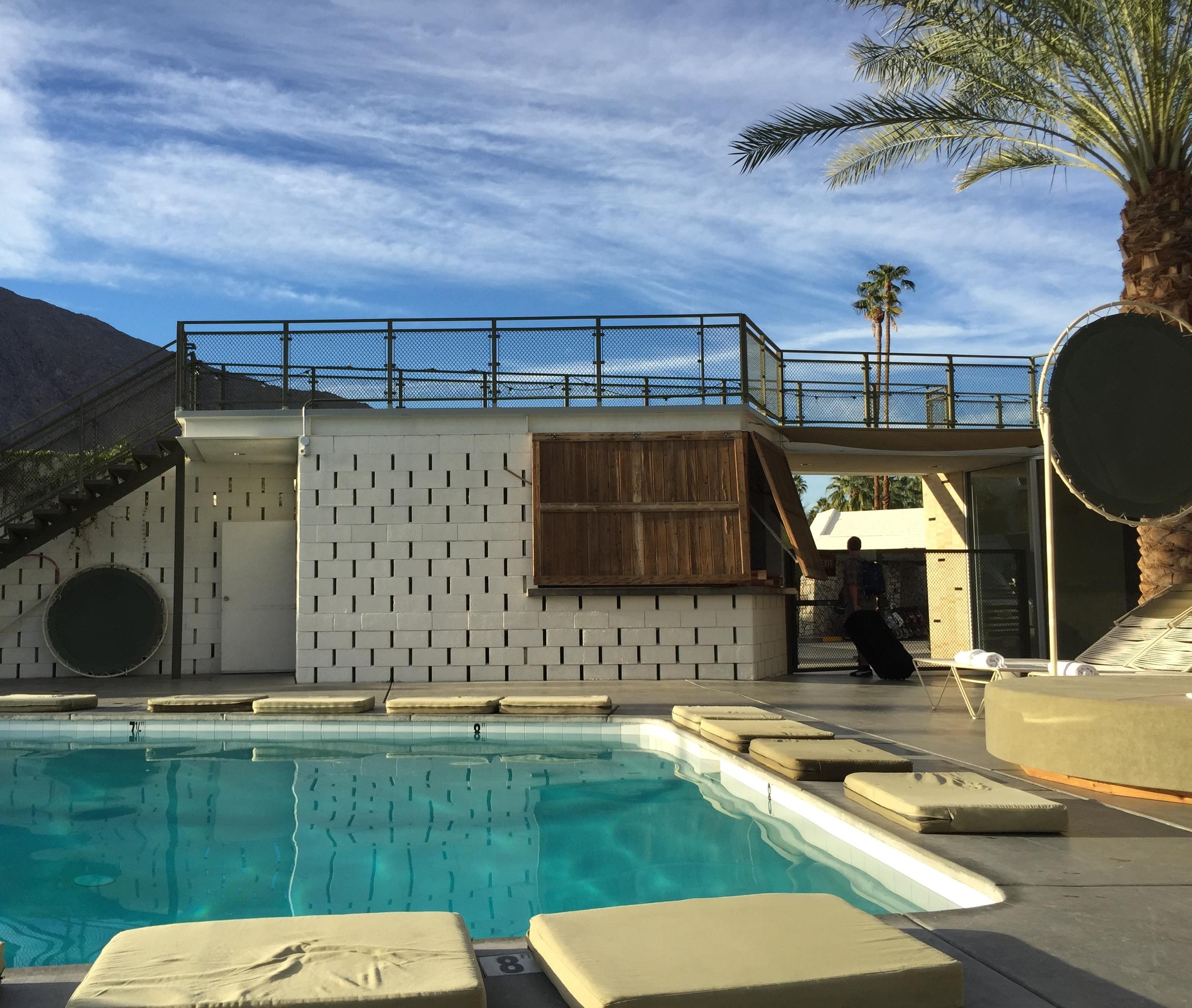 California. Ace Hotel & Swim Club Palm Springs.