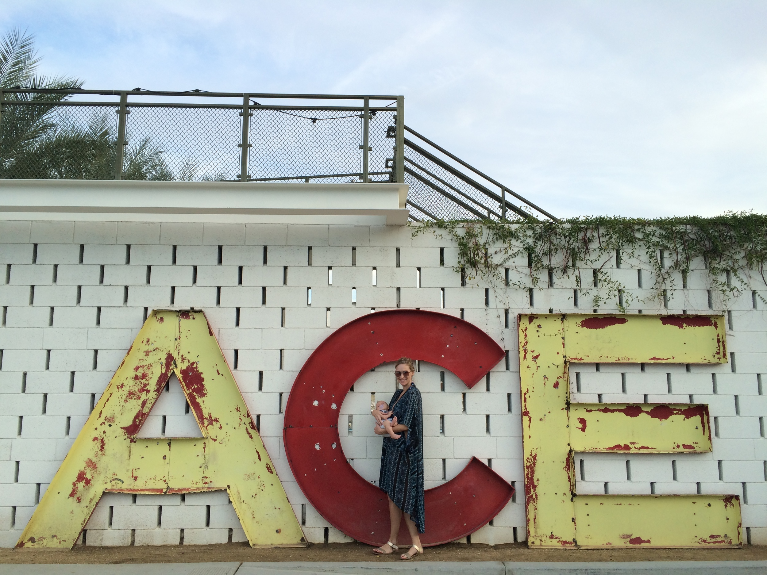 I think everyone who stays at the Ace takes some variation of this photo...