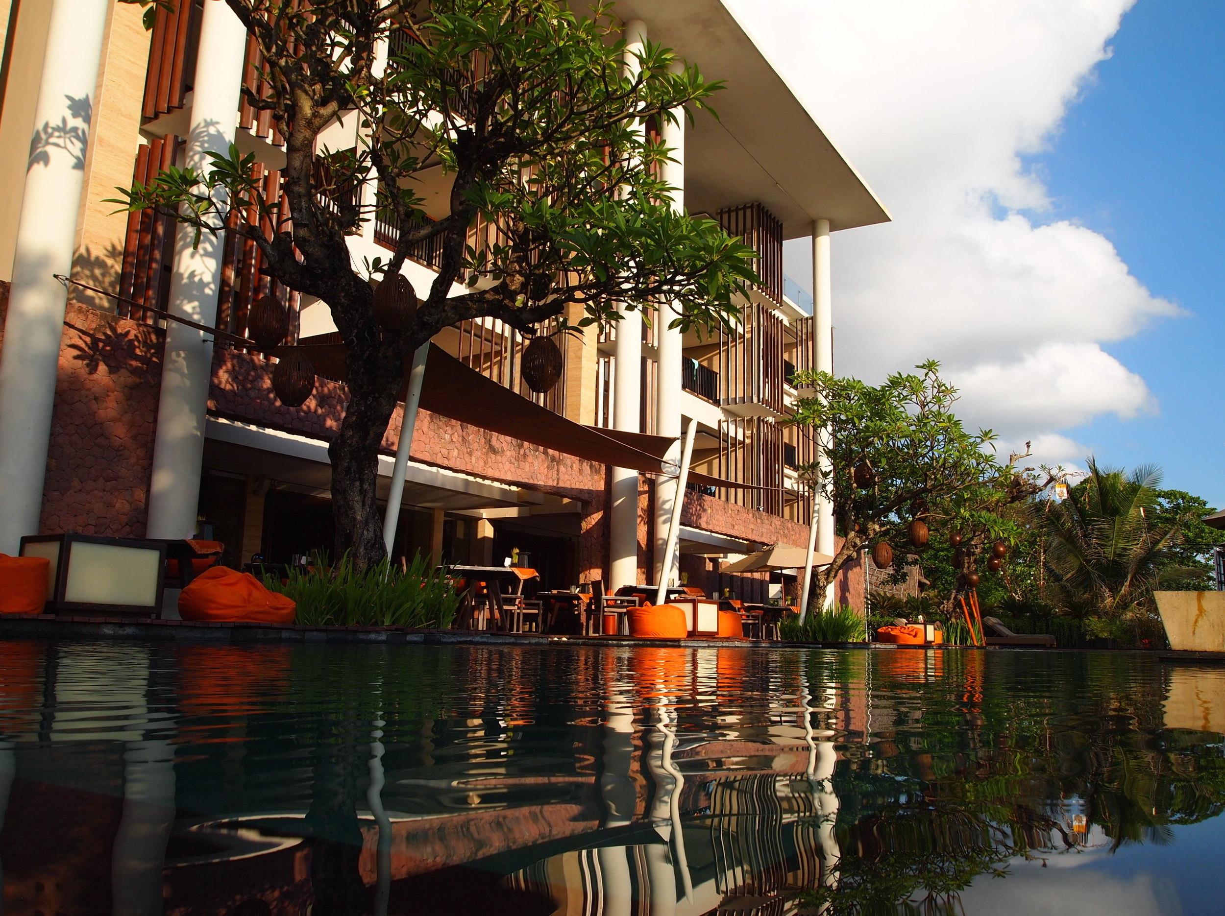 Anantara Seminyak, one of my  Bali beachfront stays .