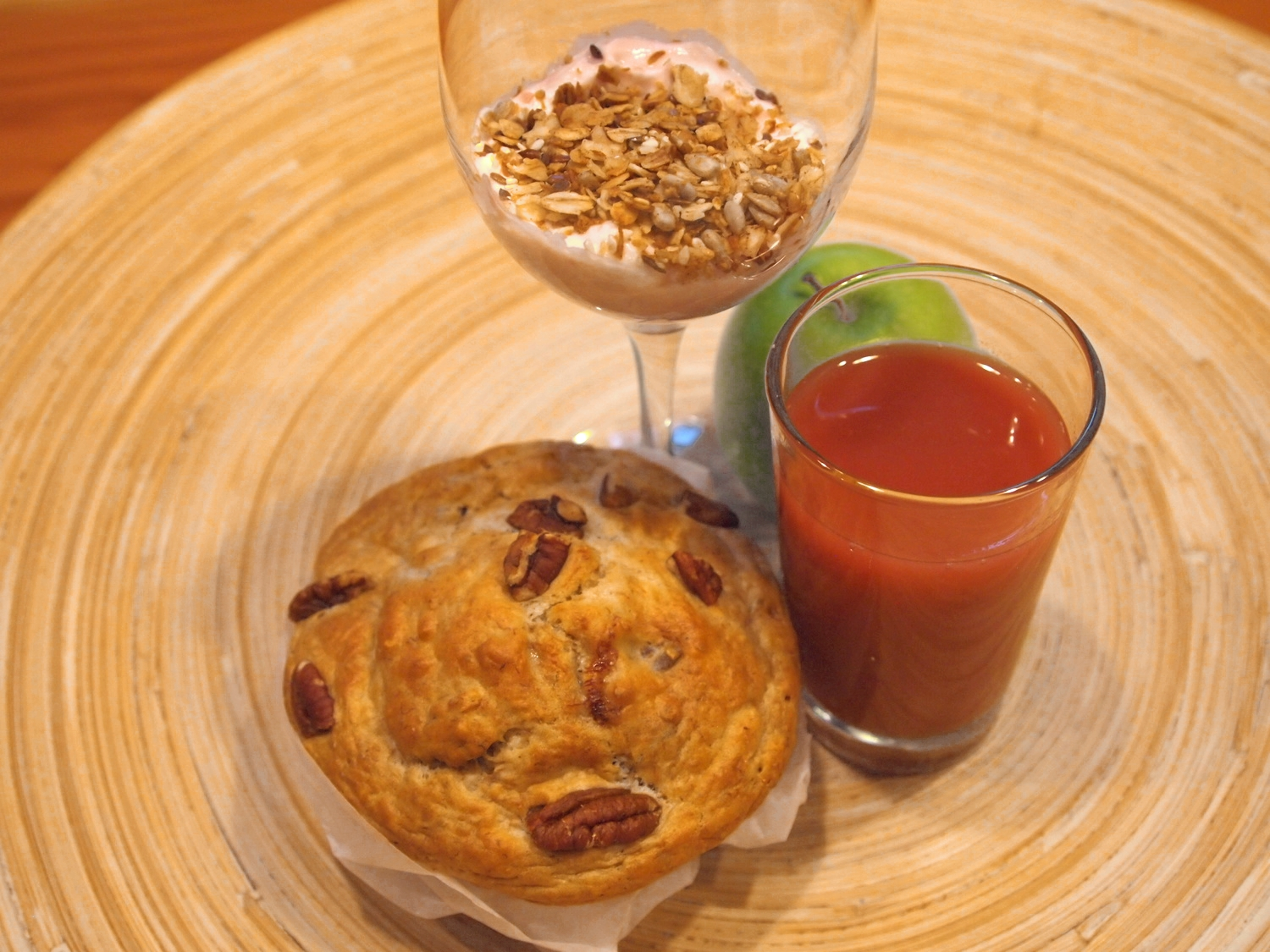 The Pacific Sands' CAD $11 breakfast delivery program sources locally-made muffins, granola, etc.