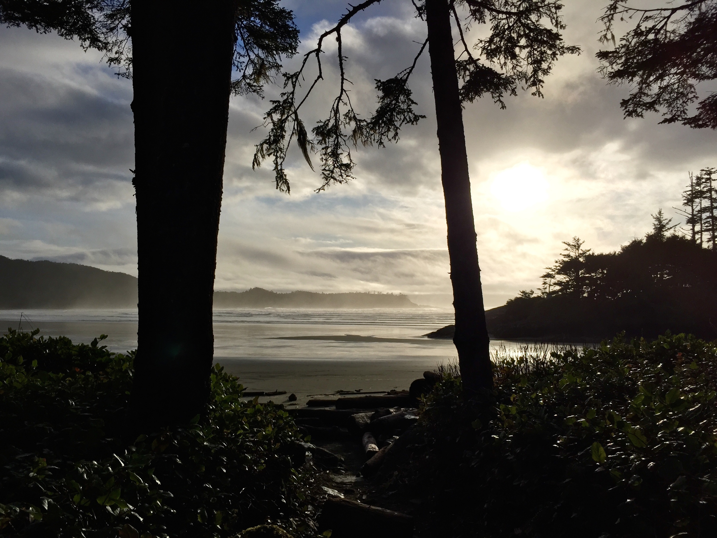 A typical Pacific Sands afternoon, best enjoyed with a bottle of BC wine