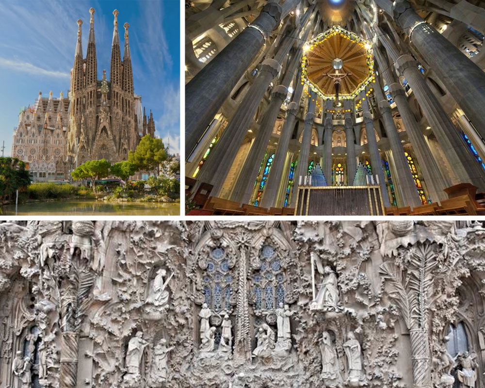 DO // Don't miss the architectural centerpiece of the city, Gaudí's  La Sagrada Familia , and if you plan on going inside, buy tickets ahead. The detail will blow your mind! No wonder it's still a work in progress.