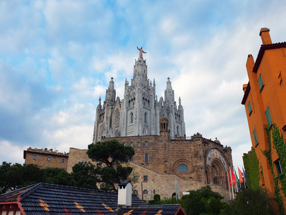 Sagrat Cor church, Tibidabo