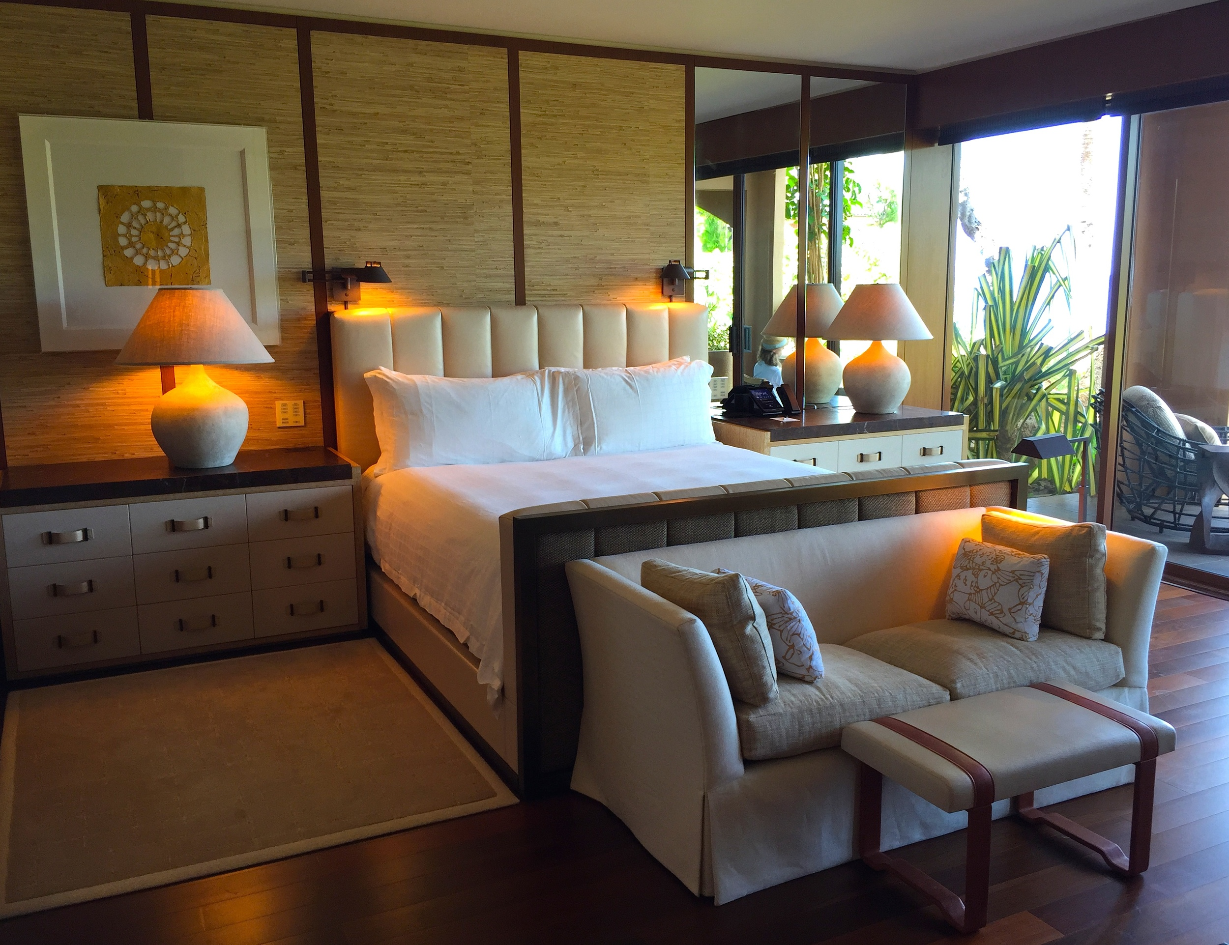 The rooms  —  easily in my top five for design, finishand wow-factor