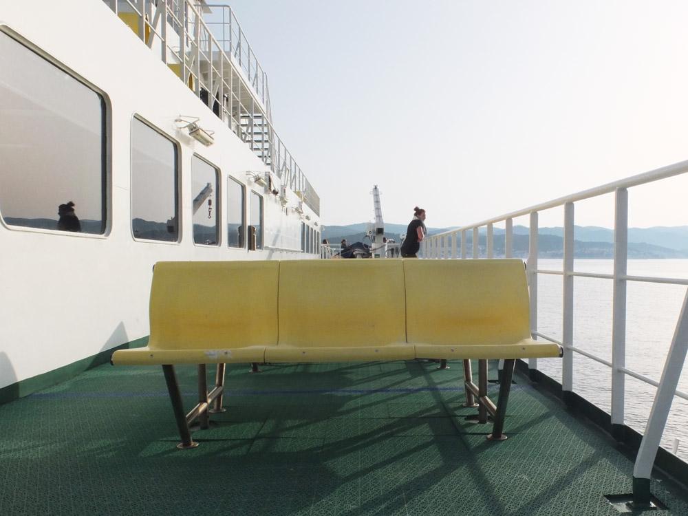 DO // Travel via car ferry to Kor  čula.