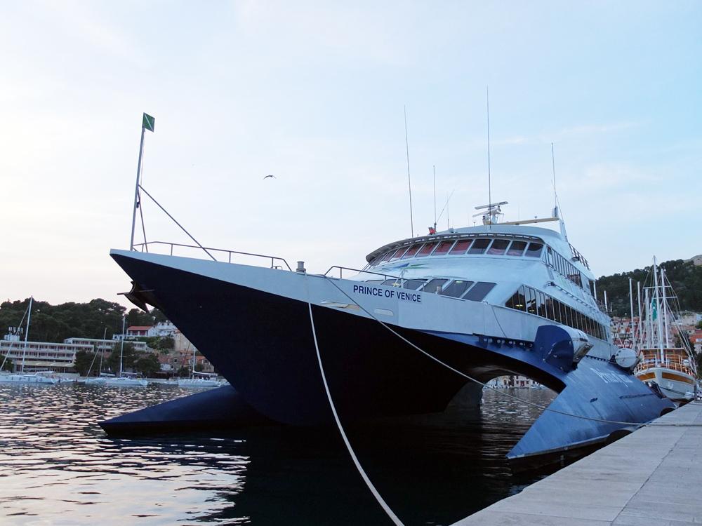 DO // Travel via catamaran from Korčula to Hvar {BYO Gravol}