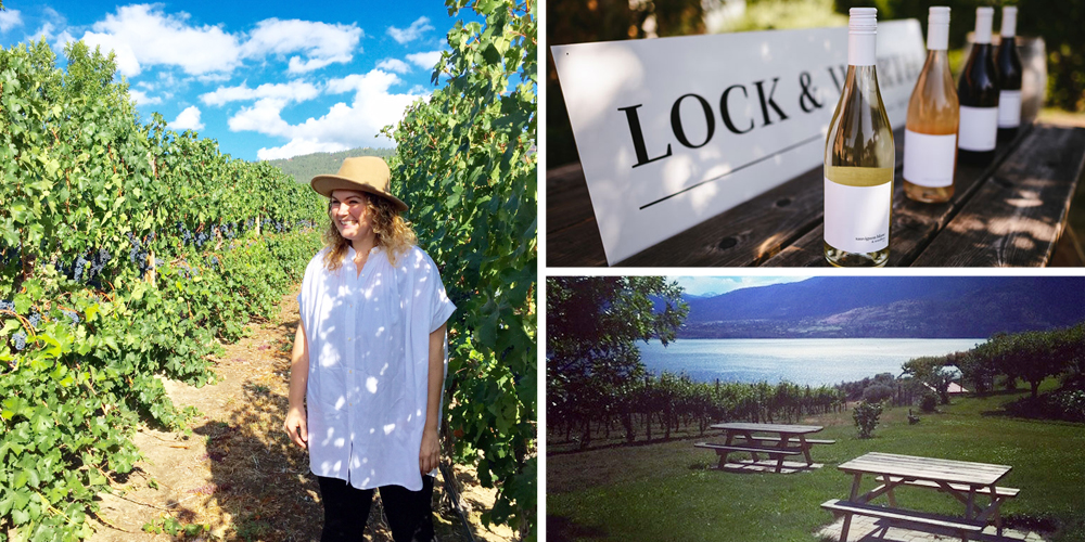 Lock & Worth Winery , Naramata Bench  Wine pick: Merlot  This young, no-fuss winery is also home to Poplar Grove cheese, so your wine tasting comes paired with food. And really, what's better than wine & cheese? {Hint: Nothing}