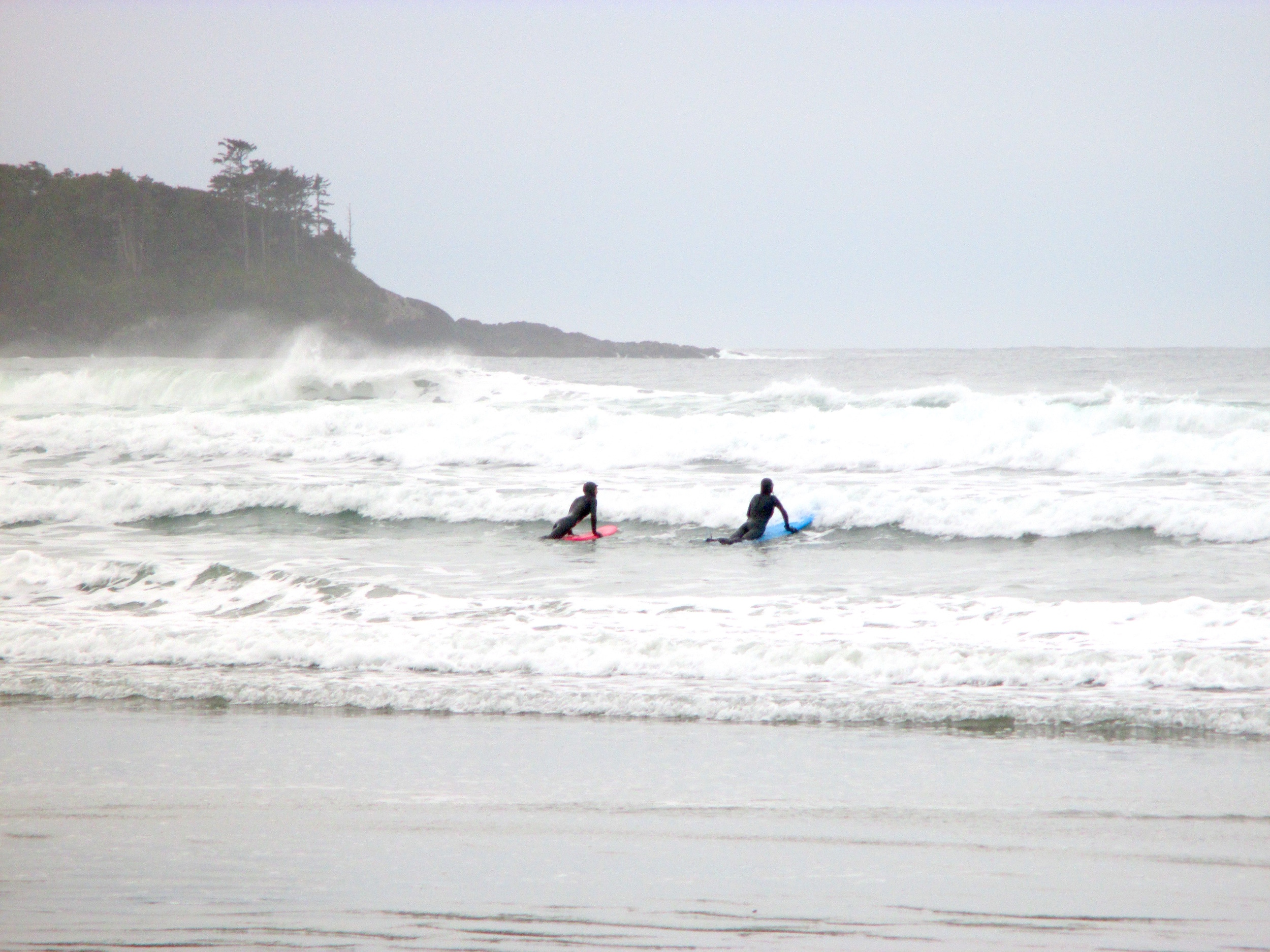 Learning to surf with Roxy-sponsored surfer Catherine Bruhwiler of Tofino Paddle Surf.Read more about it in my article,  Surfing the Canadian Coast , in the Expedia Viewfinder.