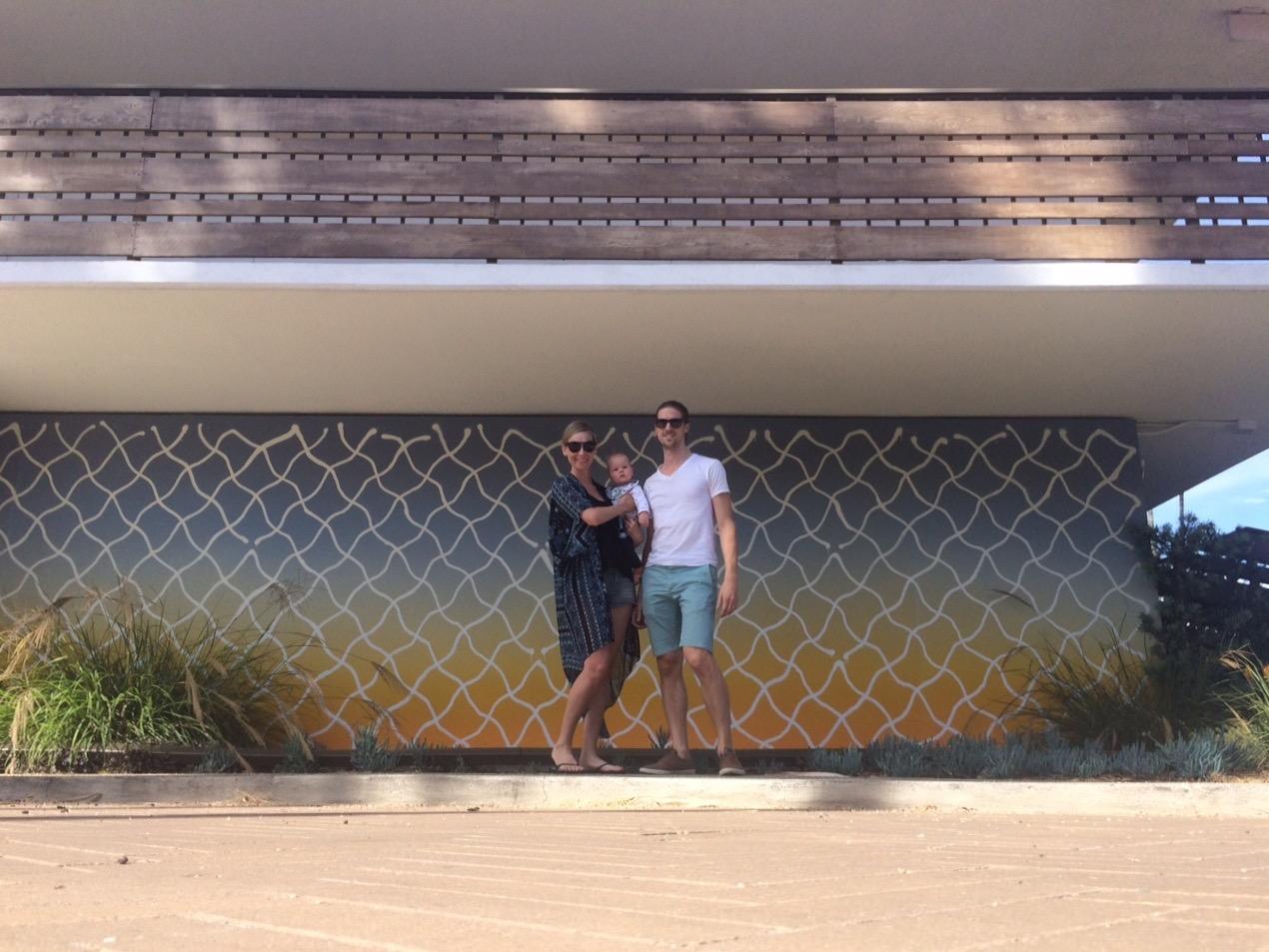 La familia in Santa Barbara. Read about Santa Barbara's new wave of trendsetters in my article,  Santa Barbara Beyond the Break , in the Expedia Viewfinder.