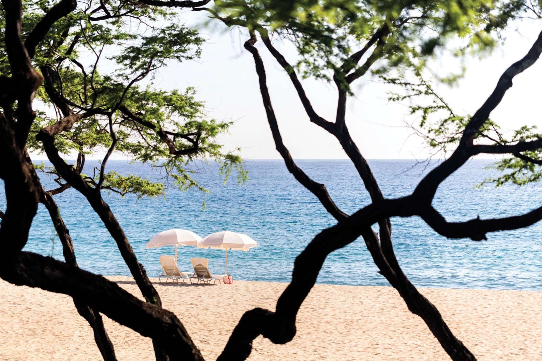 Lanai: The beach at the Four Seasons Lanai, one of my favorite hotels on PLANET EARTH {which just went through an extensive top-to-bottom reno} and is one of the most picture-perfect properties I've ever visited {photo via resort}.