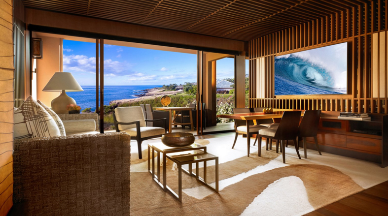Lanai: A glimpse of the new rooms at the Four Seasons Lanai {photo via resort}.