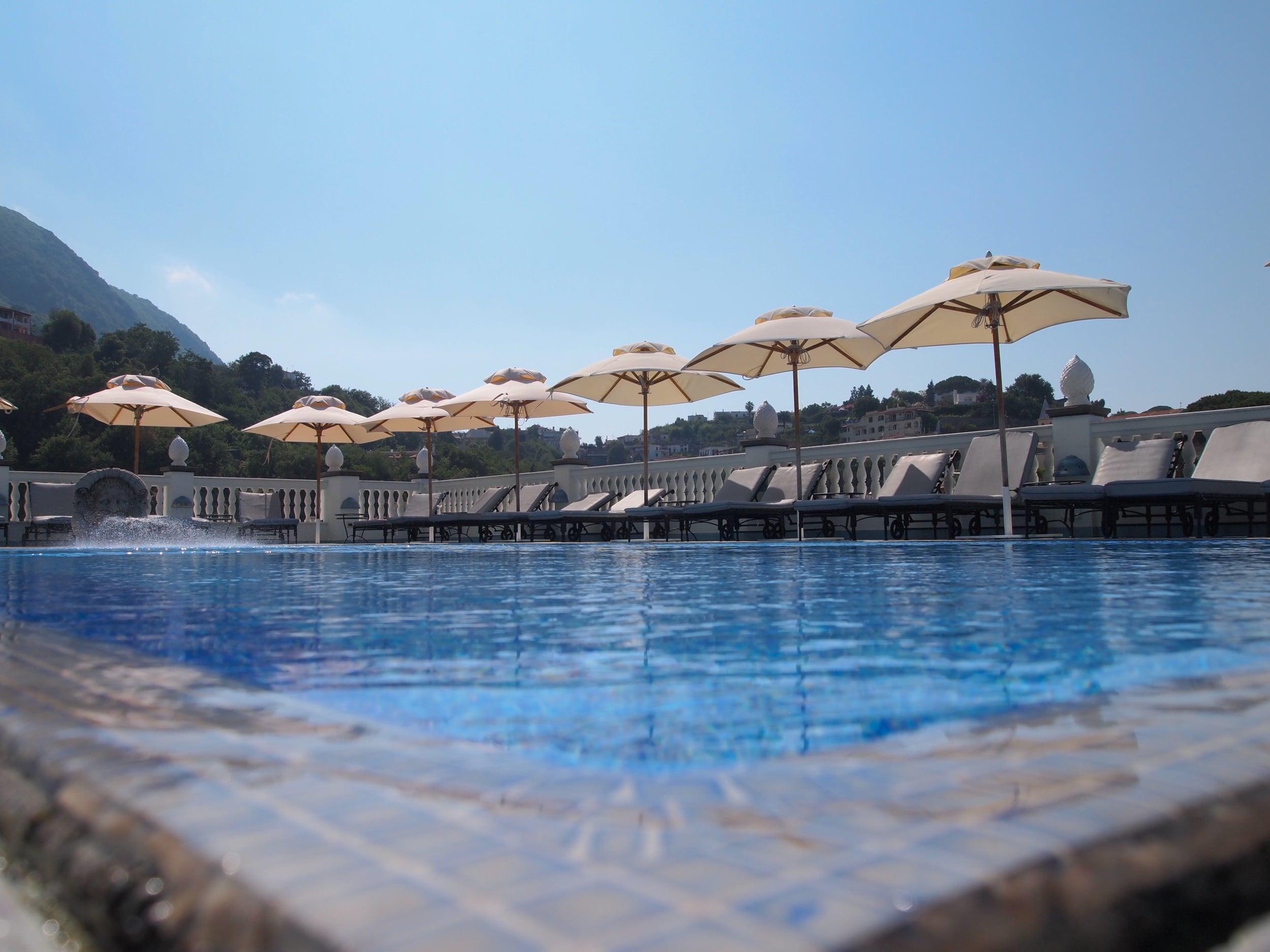 Ischia: and spring-fed pools { Terme Manzi }...