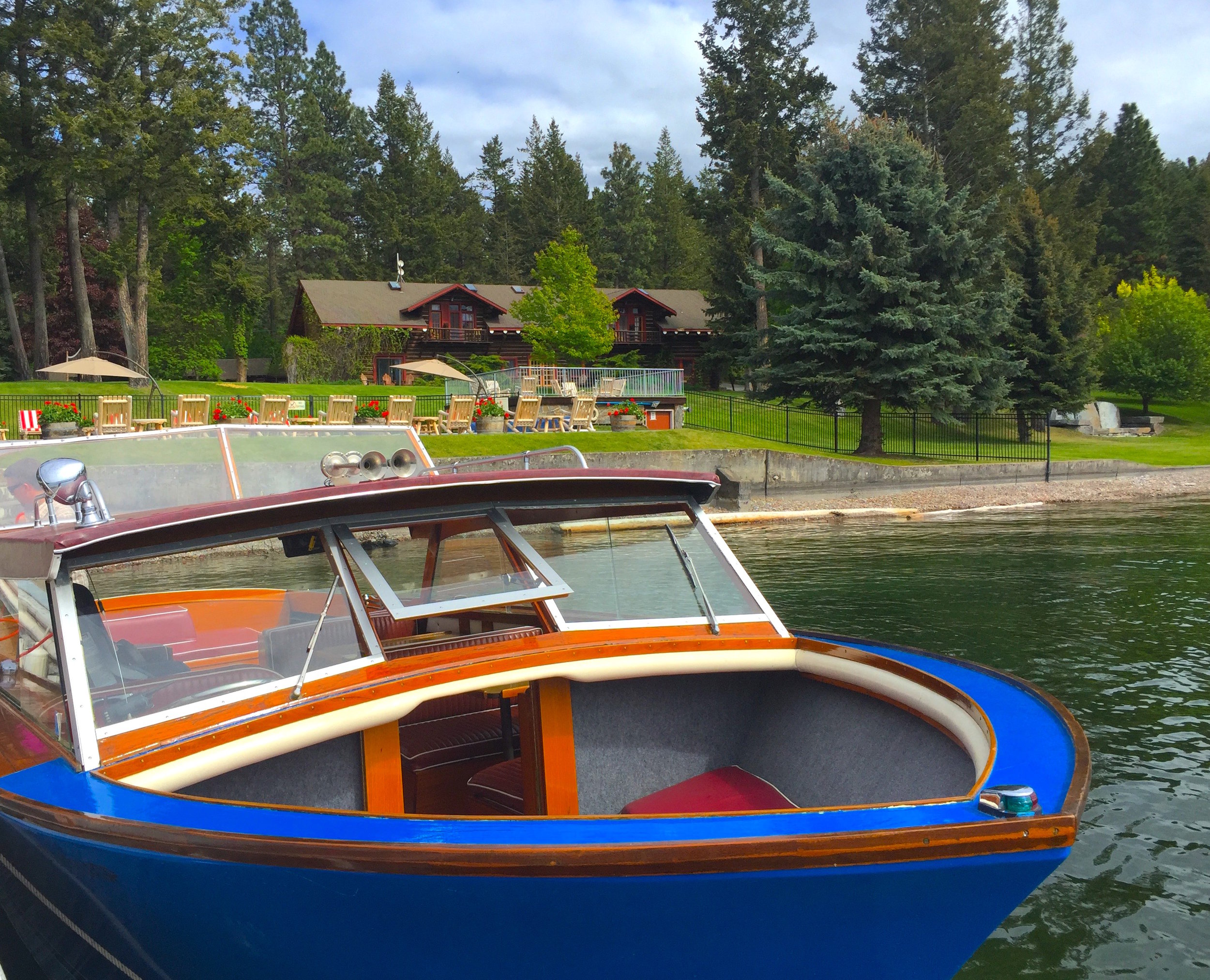 Flathead Lake Lodge, one of Montana's iconic stays, has been welcoming guests since the 1940s.