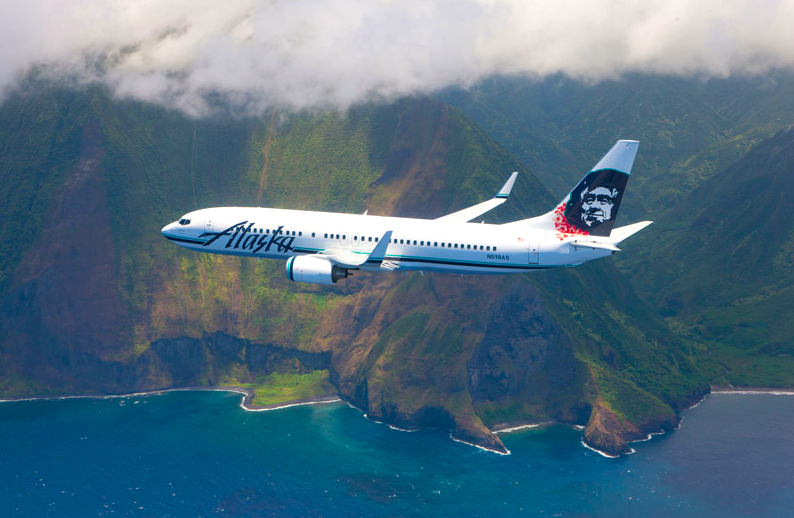 alaska airlines + hawaii island